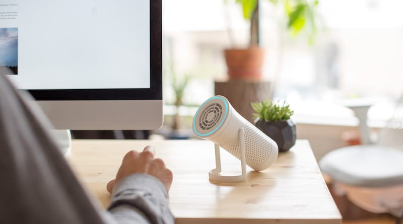 Interview: Wynd, the smart air purifier that you carry with you