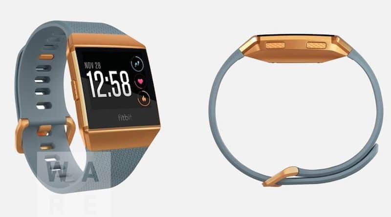 New images of Fitbit's first smartwatch reveal upgraded heart rate sensor