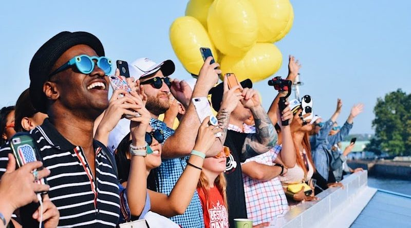 Snapchat Spectacles make US Open debut