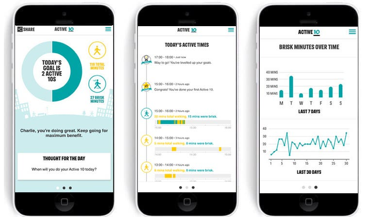 uk government fights inactivity epidemic with 10 minute walk a day app - UK government fights inactivity epidemic with 10-minute walk a day app