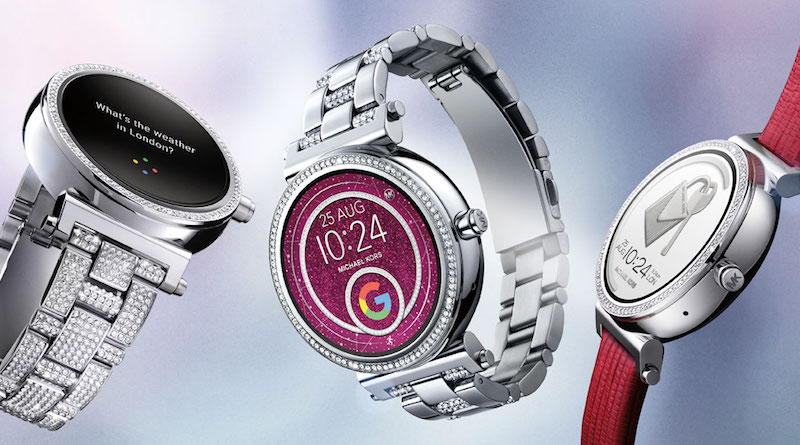 3e460cac336d Michael Kors launches its Grayson and Sofie smartwatches