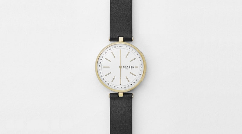 Skagen's Signatur T-Bar is a hybrid designed for women