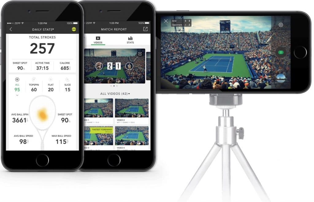 track performance and match statistics with zepp tennis 2 2 1024x661 - Track performance and match statistics with Zepp Tennis 2