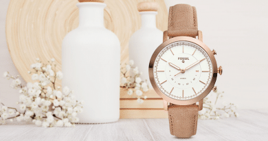 Fossil adds Q Neely and Q Jacqueline to its hybrid watch range