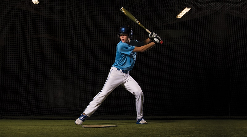 Garmin's bat swing sensor comes with a built-in display for real-time feedback