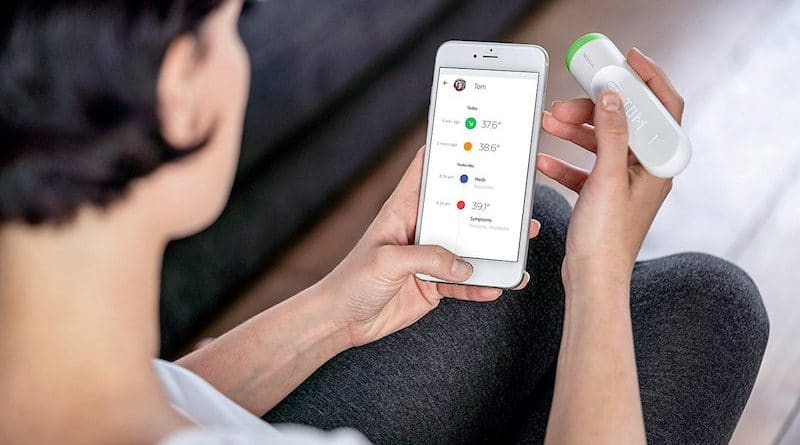 Gear up for the flu season with a smart thermometer
