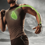 Heart rate zone training with wearables