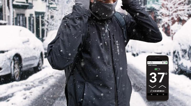 Kinesix: choose where you want the heat and let the jacket do the rest