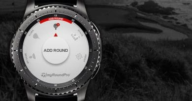 myRound Pro golf tracking GPS app now available on Samsung wearables