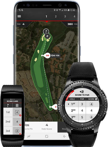 myround pro golf tracking gps app now available on samsung wearables - myRound Pro golf tracking GPS app now available on Samsung wearables