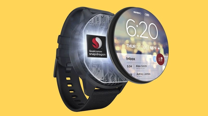 qualcomm hints at next generation smartwatch chip - Qualcomm hints at next generation smartwatch chip