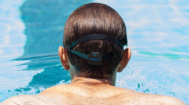 Waterfi launches its first swim tracker