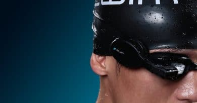 Zwim: Google Glass type goggles that track your swim sessions