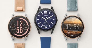 Q Control is Fossil's first sporty Android Wear smartwatch