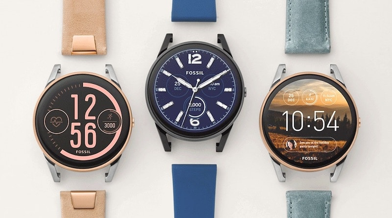 Fossil Q Control 1 - Q Control is Fossil's first sporty Android Wear smartwatch