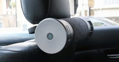 Airbubbl: Create a bubble of clean air inside your car