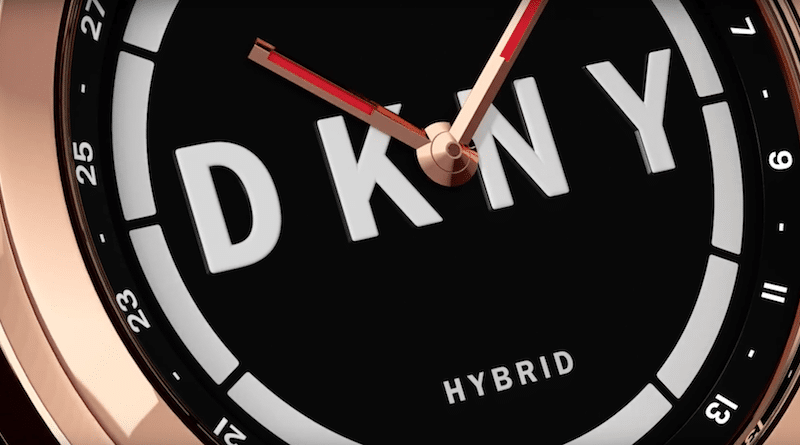 Fossil Group expands its hybrid watch range with the DKNY Minute