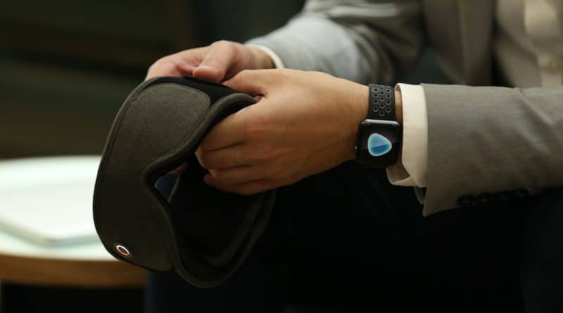 Silentmode: doze off with this noise and light cancelling mask