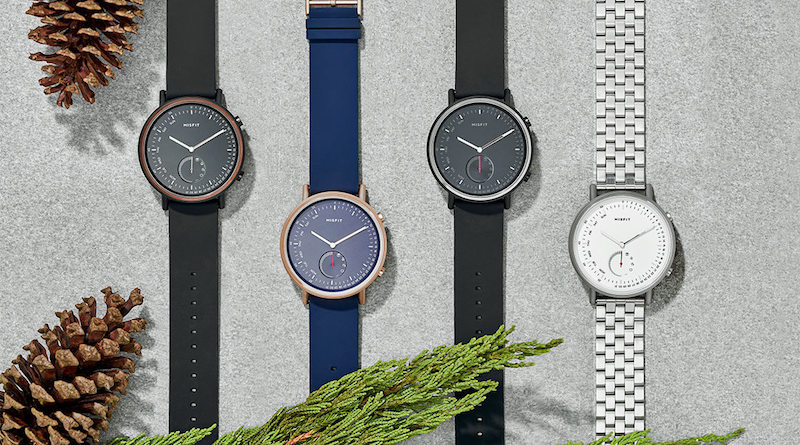 Take on the day with Misfit's second hybrid timepiece, the Command