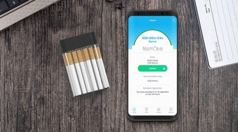 FitSmoke: the smart cigarette pack that helps you quit smoking