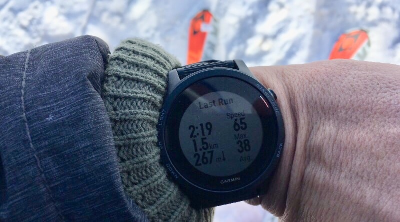 how to track skiing with your garmin sports watch 4 - How to track skiing with your Garmin sports watch