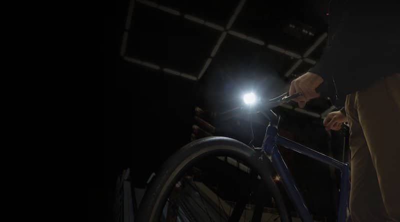 Radius F1: the speed-sensing, auto-adjusting bike light