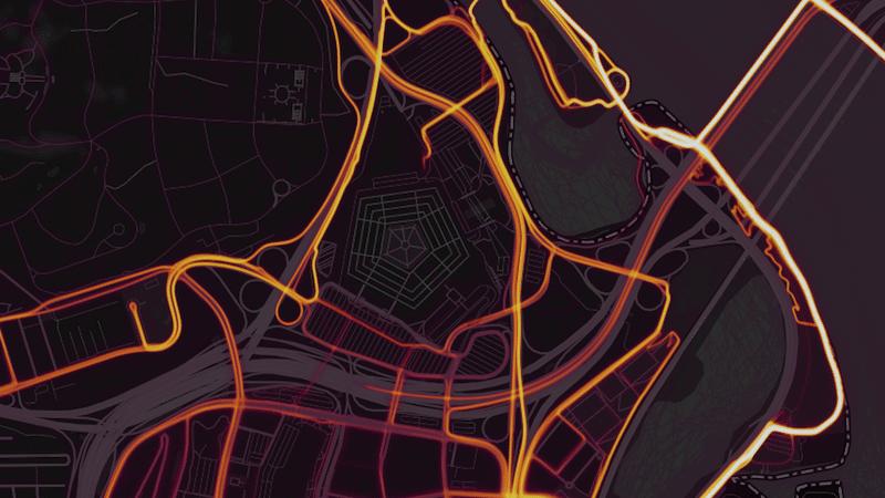 Stravas Global Heatmap reveals locations of secret military bases 02 - Strava's Global Heatmap shows locations of secret military bases