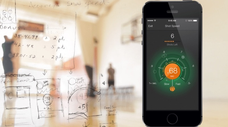 Connected tech for aspiring basketball players