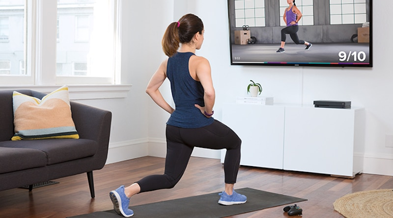 Fitbit brings its personalized training app to the big screen