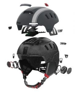 livall launches next generation smart helmets for cyclists and skiers 3 245x300 - LIVALL launches next generation smart helmets for cyclists and skiers