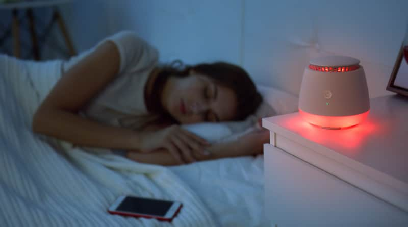 Sleepace's bedroom of the future demo'd at CES 2018