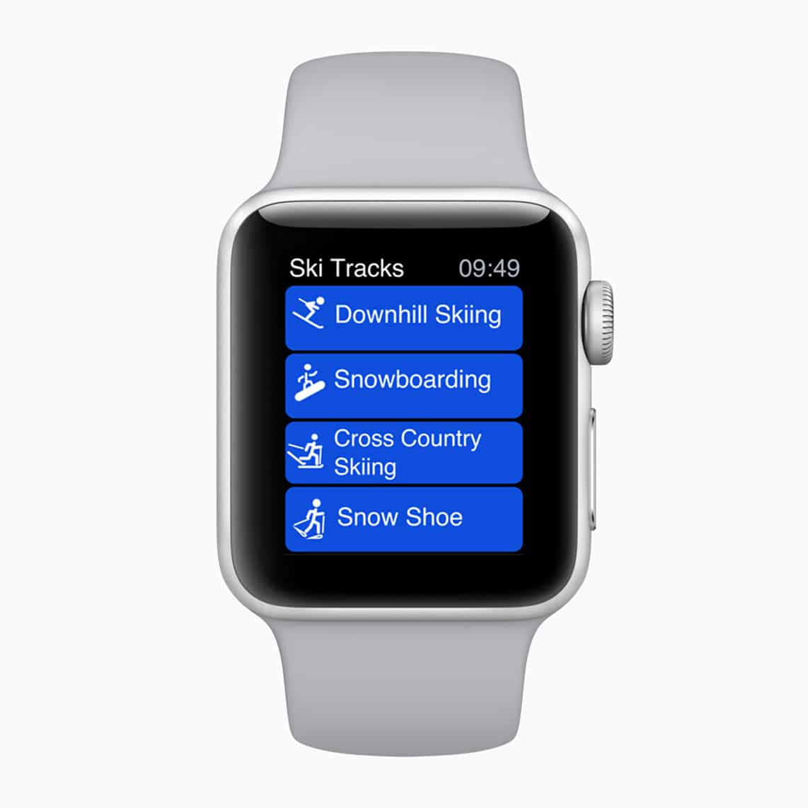 Alpine sports fans can now use the Apple Watch Series 3 to track their activity