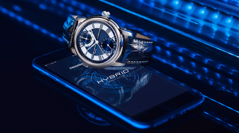 Frederique Constant unveils the world's first watch that is both smart and mechanical