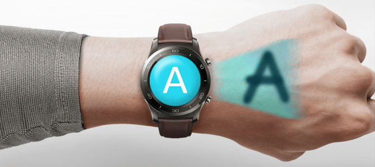 huawei s new smartwatch may use the back of your hand as a notepad - Huawei's new smartwatch might use the back of your hand as a notepad