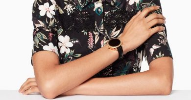 Kate Spade combines style and function with its first full-touch smartwatch