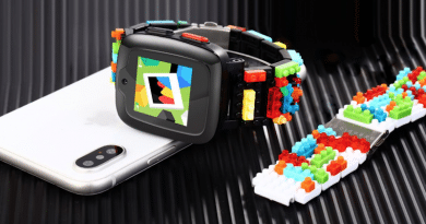 Omate teams up with Nanoblock on a LEGO-like smartwatch for kids