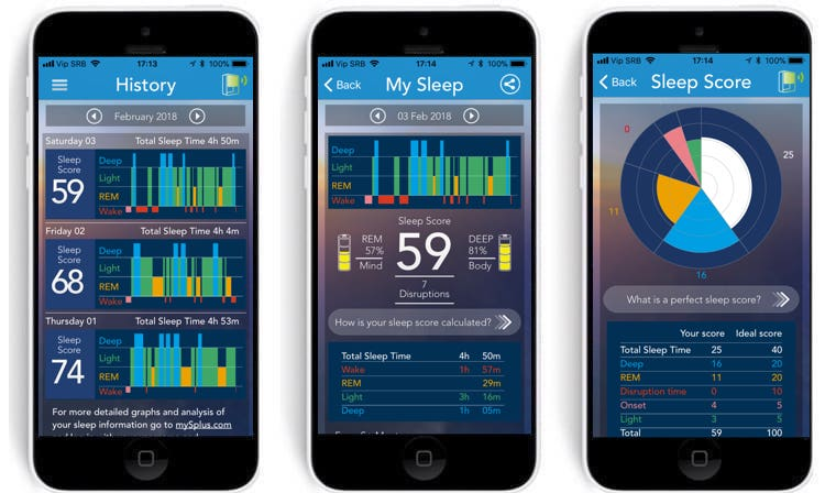 review resmed s a contactless sleep tracker with plenty of features 5 - Review: SleepScore S+, monitors your sleep without actually touching you
