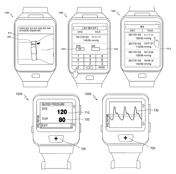 samsung files patent for blood pressure tracking smartwatch - Samsung files patent for blood pressure tracking smartwatch