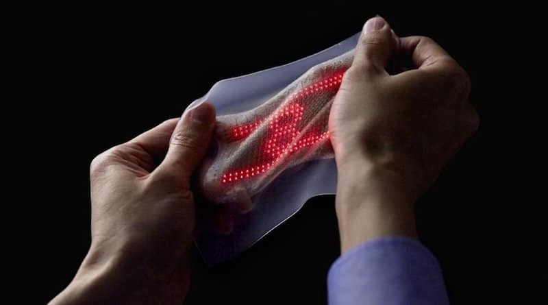 Scientists develop electronic skin that shows off your vitals stats