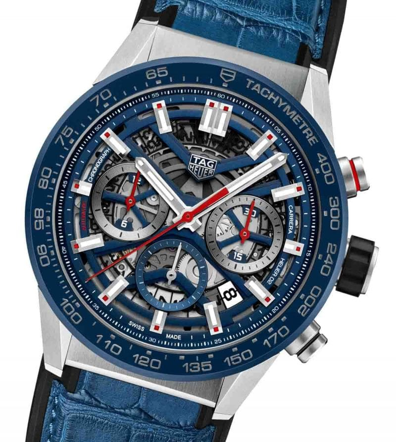 Tag Heuer revamps its Carrera line with new automatic movement