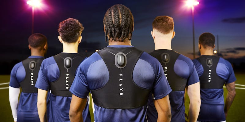 training sensors for soccer aka football players 1 - Training sensors for soccer (aka football) players