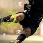 Training sensors for soccer (aka football) players