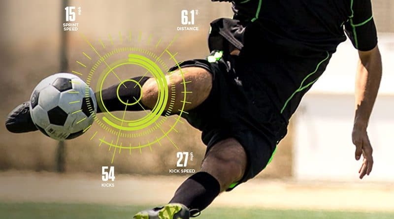 Training sensors for soccer (aka football) players