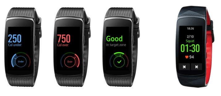 samsung gear fit2 fit2 pro update makes it easier to track exercise - Samsung Gear Fit2, Fit2 pro update makes it easier to track exercise