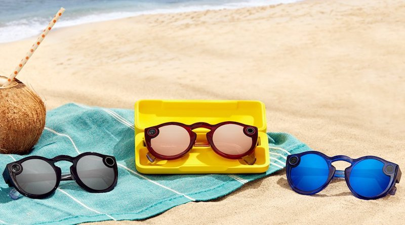 A new more powerful version of Snap's camera glasses are here