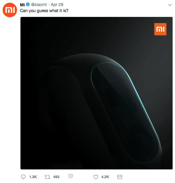 xiaomi ceo spotted wearing mi band 3 what to expect from the new smart band - Xiaomi Mi Band 3 launch confirmed for May 31st, pics emerge along with user manual