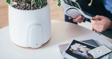 NATEDE: the stylish plant holder that doubles as an advanced air purifier