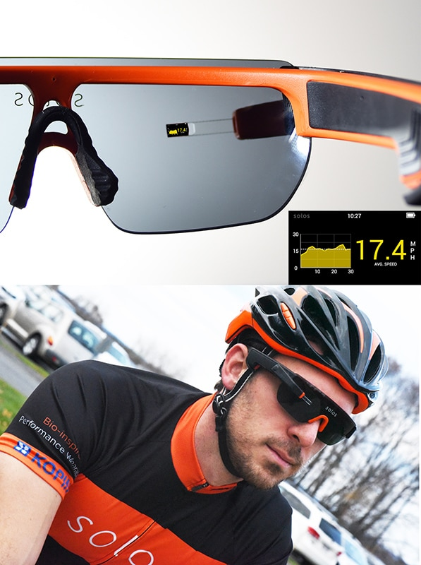 next generation solos smart glasses are for cyclists and runners - Next generation SOLOS smart glasses are for cyclists and runners