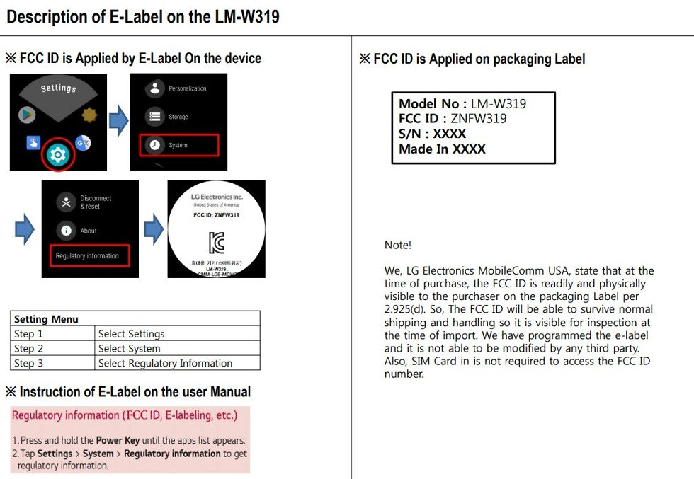 a second lg wear os watch hits the fcc - A second LG Wear OS watch hits the FCC