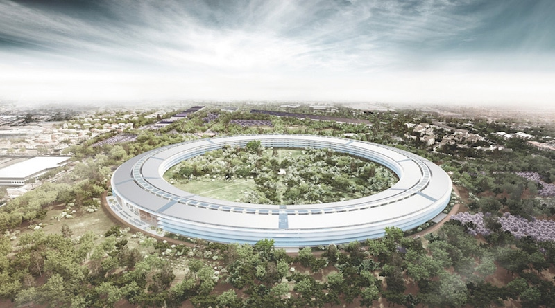 Apple's new campus is standing room only